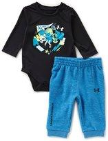 Under Armour Baby Boys Newborn-12 Months Long-Sleeve Graphic Bodysuit & Pant Set