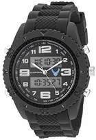 U.S. Air Force Men's Analog-Digital Chronograph Black Resin Strap Watch by Wrist Armor