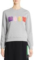 MSGM Women's Embellished Logo Sweatshirt