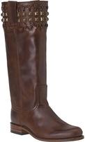 Sendra 9177 Stud Boot Brown Leather