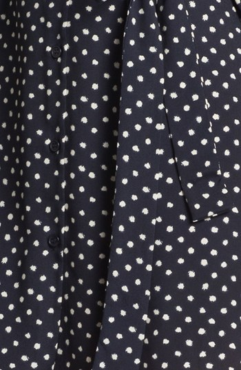 Collective Concepts Polka Dot Shirtdress