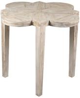 CFC Quatre Feuille Side Table - Unfinished graywash