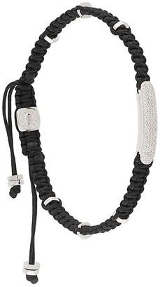 Tateossian Diamond-Baton Bracelet