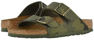 Birkenstock Arizona Camo (Desert Soil Khaki Birko-Flortm) Women's Shoes