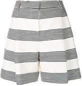 Piazza Sempione striped wide leg shorts