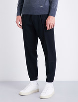 DSQUARED2 Tapered wool-blend jogging bottoms