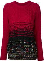 Coohem gradient effect jumper - women - Polyester/Wool - 36