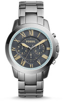 Fossil Grant Chronograph Gunmetal Stainless Steel Watch