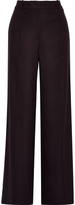 Adam Lippes Pleated Woven Wide-leg Pants