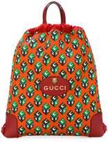 Gucci GG Wallpaper drawstring backpack