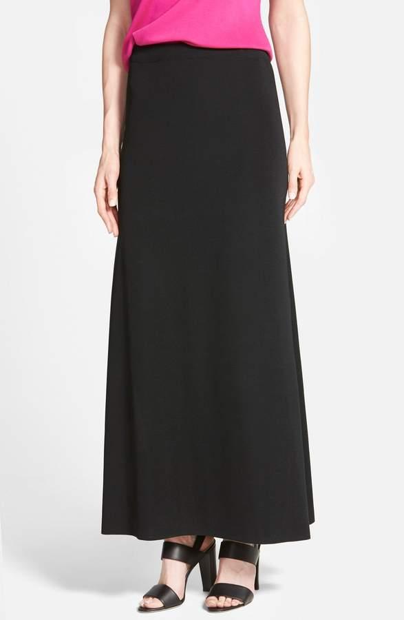 A-Line Knit Maxi Skirt