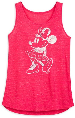 Disney Minnie Mouse Tank Top for Women Pink