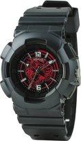 Ed Hardy Men's Striker SR-BK Polyurethane Quartz Watch with Dial