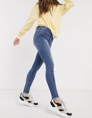 One Teaspoon highway freebirds bite me denim jeans in blue