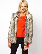 ASOS Vintage Faux Fur Coat