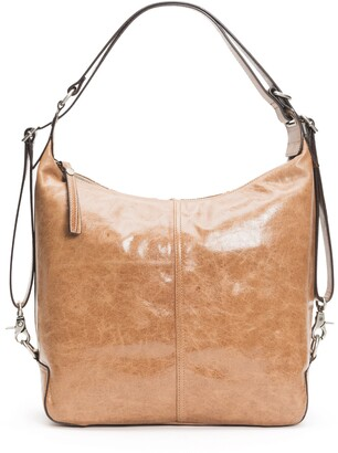 Frye Gia Convertible Leather Backpack