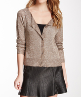Sisters Taupe Mohair-Blend Cardigan