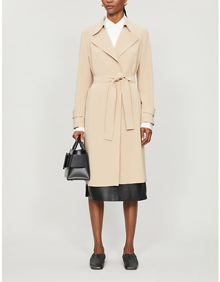 Theory Belted woven trench coat
