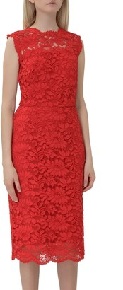 Lauren Ralph Lauren Lace Detailed Sleeveless Dress