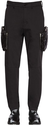 Stone Island Shadow Project COTTON BLEND CARGO PANTS