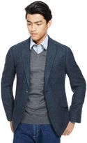 Marks and Spencer Big & Tall Tailored Fit 2 Button Herringbone Jacket