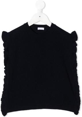 Il Gufo Ruffled Knit Vest