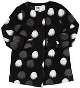 Milly Pom-Pom A-Line Coat