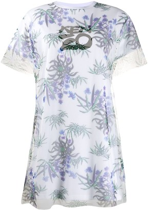 Kenzo Sea Lily T-shirt dress