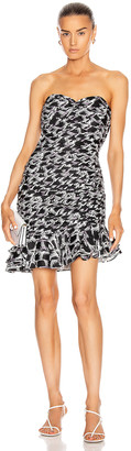 retrofete Samantha Dress in Black & White Print | FWRD