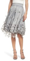 Eliza J Women's Floral Applique Ball Skirt