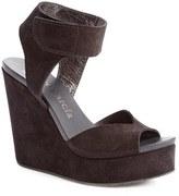 Pedro Garcia Women's 'Tenley' Ankle Strap Platform Wedge Sandal