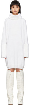 MM6 MAISON MARGIELA White Turtleneck Dress