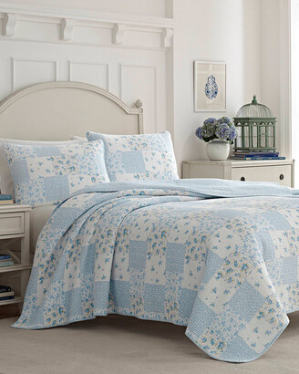 Laura Ashley Kenna Quilt/Sham Set