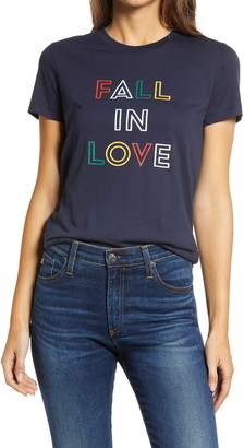 1901 Fall in Love Graphic Tee