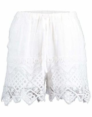 Temptation Positano Montevideo Lace Pull-On Shorts