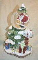 Fitz & Floyd Dear Santa Musical Water Globe