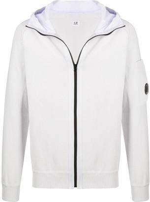C.P. Company Zip-Through Hooded Sweater