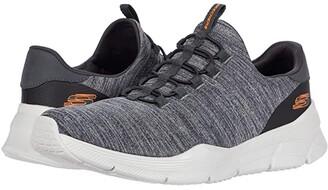 Skechers Equalizer 4.0 Voltis (Charcoal/Orange) Men's Shoes