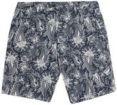 French Connection Primo Paisley Stretch Shorts
