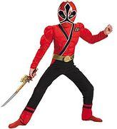 Power Rangers Red Samurai Ranger Costume - Child