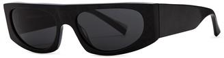 Alain Mikli Black Rectangle-frame Sunglasses
