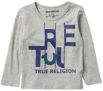 True Religion True Slice Long Sleeve Tee (Toddler & Little Boys)