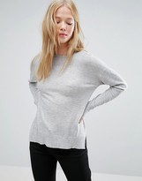 Gestuz Sky V-Neck Long Sleeved Tee
