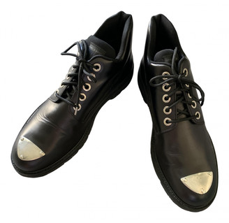 Neil Barrett Black Leather Boots