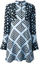 House of Holland multi print shirt dress