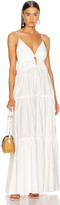 Jonathan Simkhai April Parachute Maxi Dress in White | FWRD
