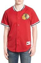 Mitchell & Ness Men's Nhl Seasoned Pro - Chicago Blackhawks Mesh Shirt