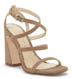 Jessica Simpson Raymie Flare Heel Sandals Women's Shoes