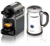 Nespresso Inissia C40 Coffee Machine & Aerocccino Plus Milk Frother