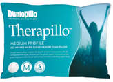 Dunlopillo Therapillo Gel Medium Proflie Memory Foam Pillow